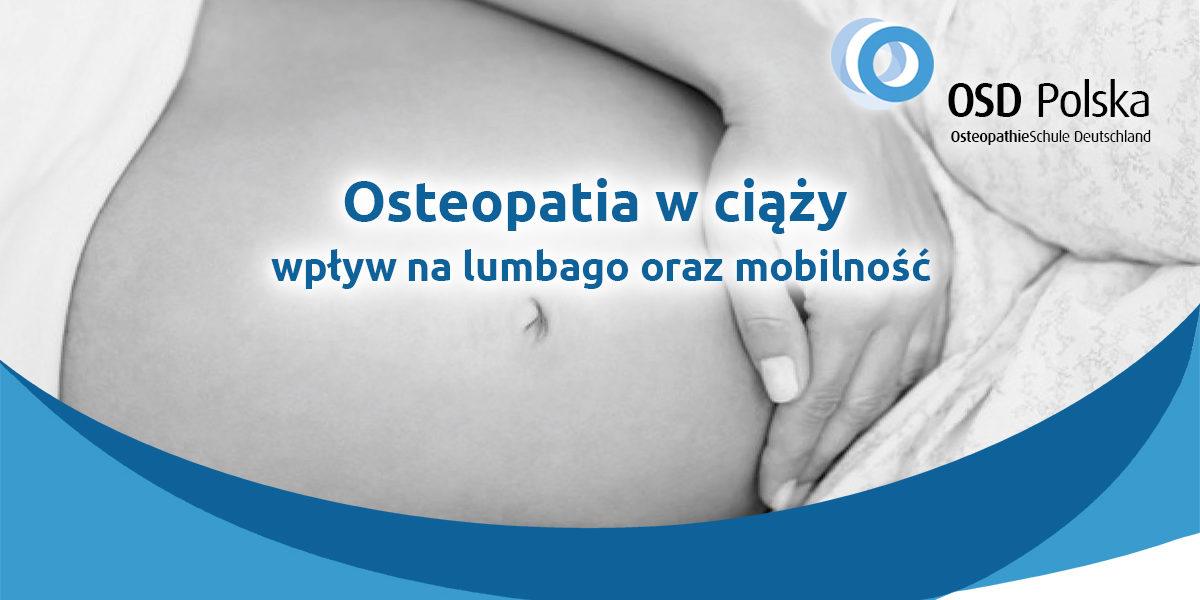 Osteopatia w ciąży